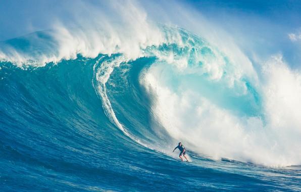 Картинка man, surf, wave