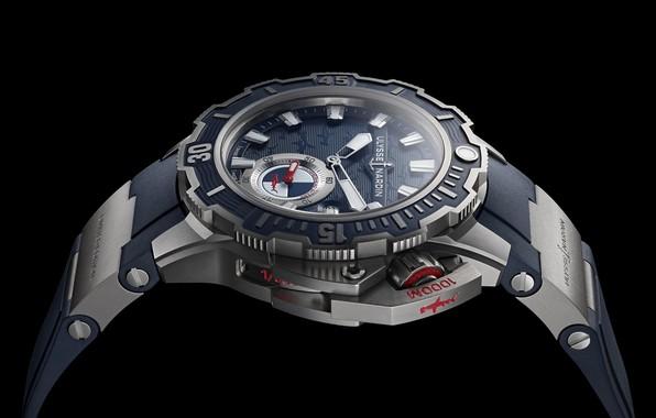 Картинка Часы, Ulysse Nardin, Hammerhead shark, Diver Deep Dive