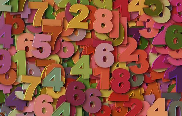 Картинка цифры, много, числа