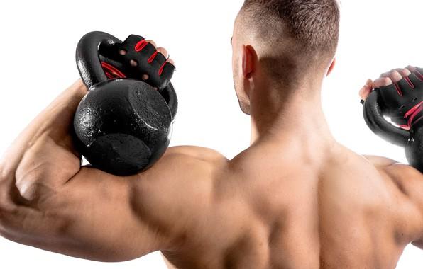 Картинка спина, перчатки, фитнес, muscle, мышцы, гиря, тренировка, атлет, бицепс, воркаут, workout, fitness, бодибилдер, training, weight, …