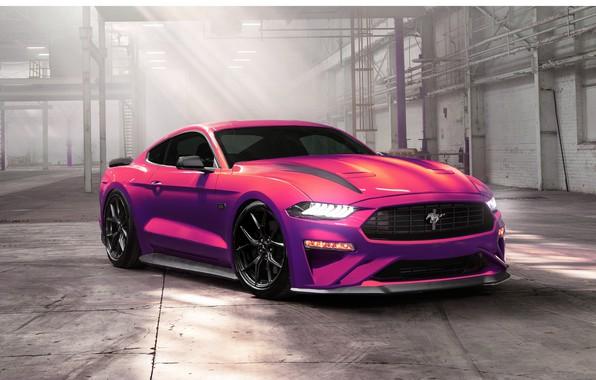 Картинка Mustang, Ford, Авто, Машина, Фиолетовый, Ford Mustang, Transport & Vehicles, 2020 Ford Mustang Ecoboost, Ayhan …