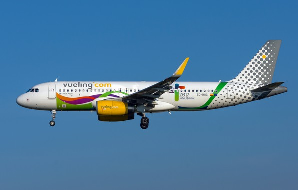 Картинка Airbus, Vueling Airlines, A320-200S