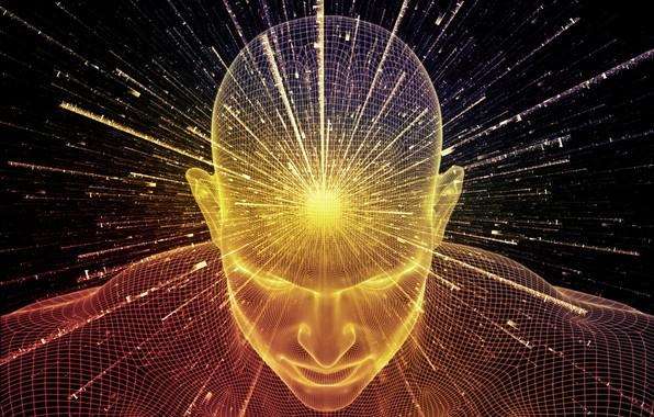 Картинка лучи, свет, человек, light, rays, man, epiphany, аура, aura, прозрение, enlightened, comprehended, постигший, просветленный