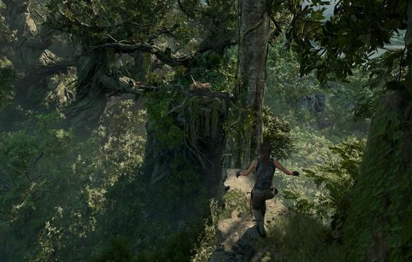 Картинка девушка, Tomb Raider, Лара Крофт, Lara Croft, расхитительница гробниц, screenshot, Shadow of the Tomb Raider, …