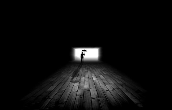 Картинка свет, тень, силуэт