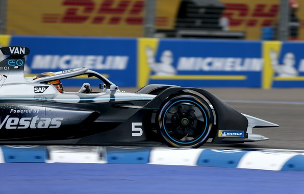 Картинка мотоспорт, Mercedes - Benz, гоночный автомобиль, Марокко, Morocco, Марракеш, Формула Е, Formula E, 2020, Stoffel …