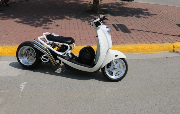 Картинка Honda, Custom, Motorbike, Modified, Scooter, SparkyGT