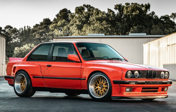 Картинка BMW, E30, Rocket Bunny, PANDEM, 325IS