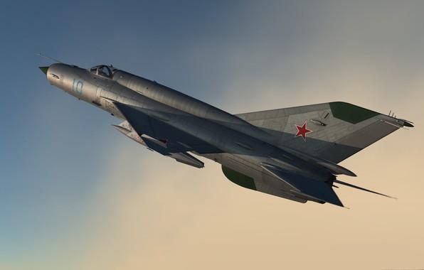 Картинка Красота, КБ МиГ, МиГ-21бис, Фронтовой истребитель