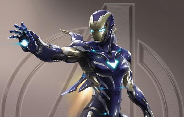 Картинка Wallpaper, Pepper Potts, Avengers: Endgame, Iron Man Armor
