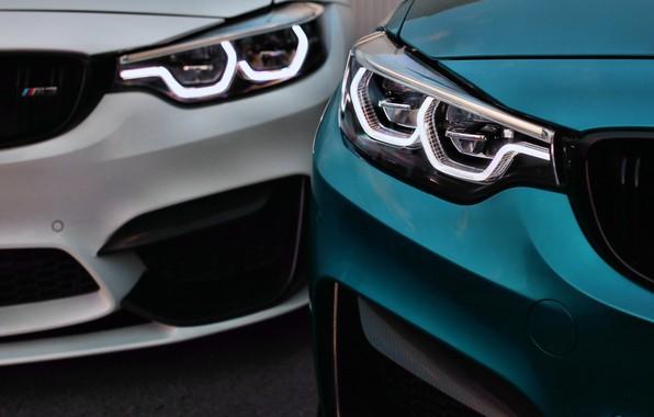Картинка BMW, Light, Blue, White, F82, F80, Sight, LED