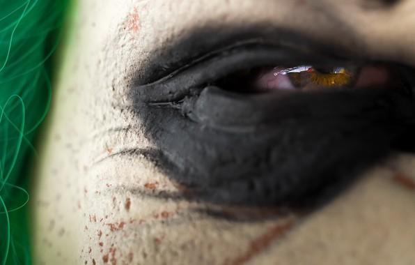 Картинка макро, глаз, фон