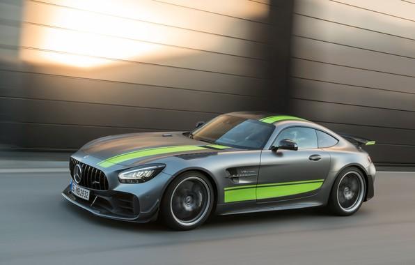 Картинка Mercedes-Benz, скорость, AMG, PRO, GT R, 2019