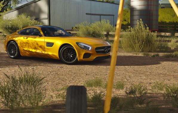 Картинка Mercedes, AMG, forza horizon 3, GT S Coupé