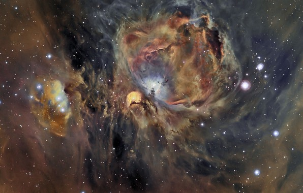 Картинка звезды, stars, Orion Nebula, Туманность Ориона, Cesar Blanco Gonzalez