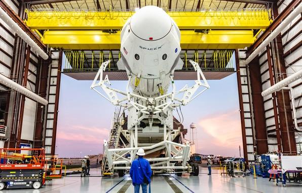 Картинка USA, США, Dragon, SpaceX