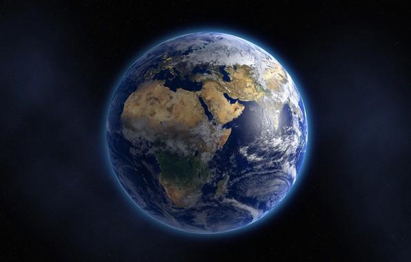 Картинка Планета, Земля, Мир, Пространство, Голубая планета