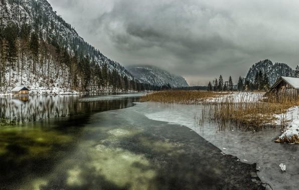 Картинка Frozen, Lake, Almsee