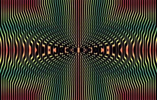 Картинка узор, краски, симметрия