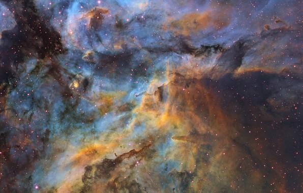 Картинка звёзды, stars, созвездие Киля, dust clouds, пылевые облока, Ignacio Diaz Bobillo