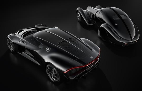 Картинка машины, ретро, Bugatti, гиперкар, La Voiture Noire