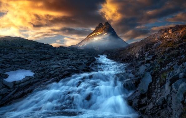 Картинка Norway, Jotunheimen, Two Towers