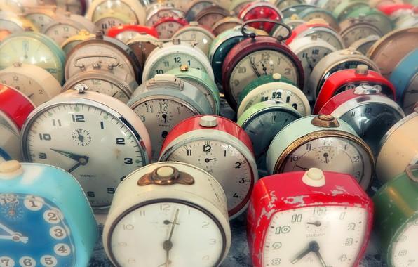 Картинка время, часы, будильники