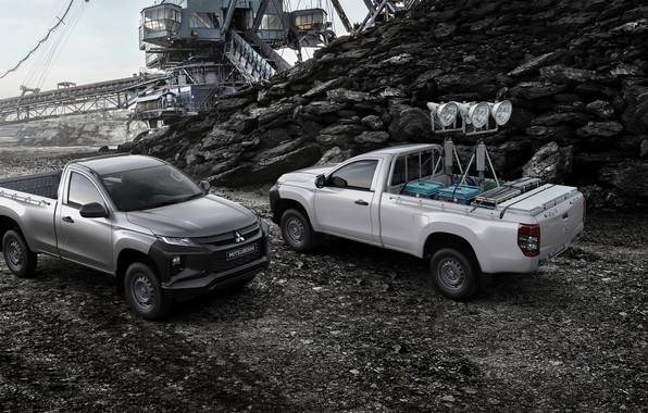 Картинка Mitsubishi, кузов, пикап, оборудование, Single Cab, L200, Triton, 2019