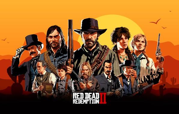 Картинка Games, RockStar, Red Dead Redemption 2
