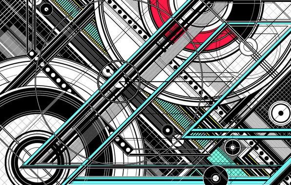 Картинка конструкция, цвет, форма