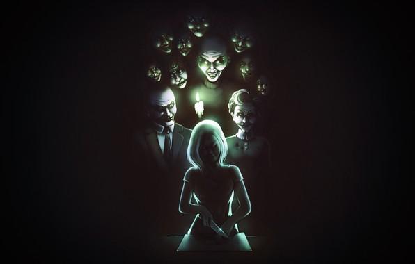 Картинка Dark, Ghost, Evil, Concept Art, Ghosts, Insidious, James Palapar, by James Palapar, Insidious Entities