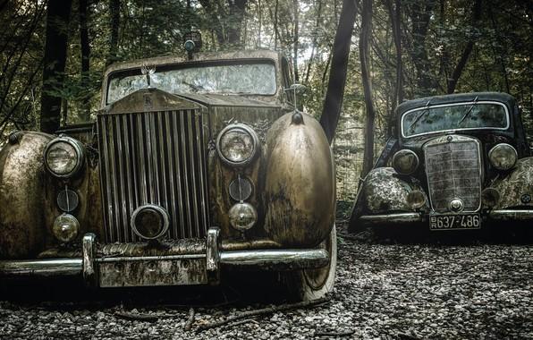 Картинка машины, фон, лом
