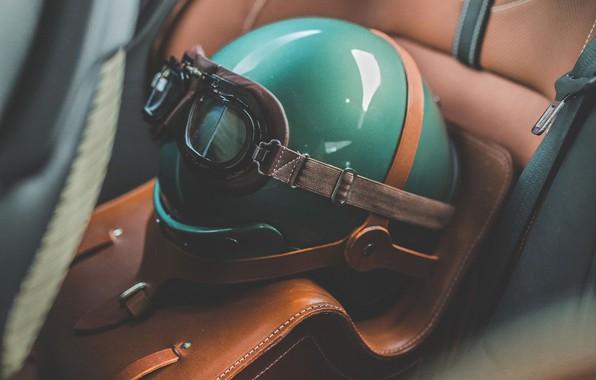 Картинка Aston Martin, Очки, Зеленый, Шлем, 2019, DBS 59