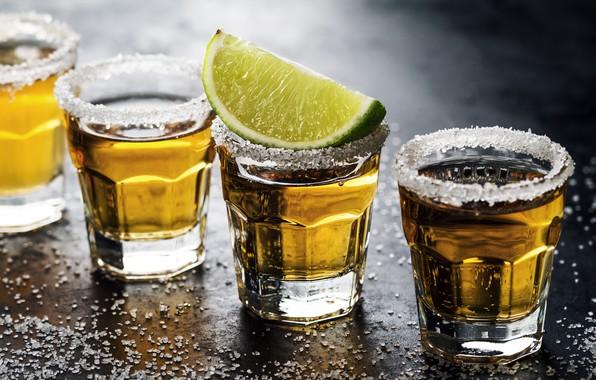Картинка алкоголь, коктейль, лайм, стаканы