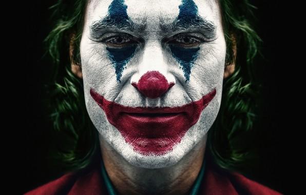 Картинка краска, Джокер, Joaquin Phoenix, Хоакин Феникс, Joker 2019, Джокер 2019