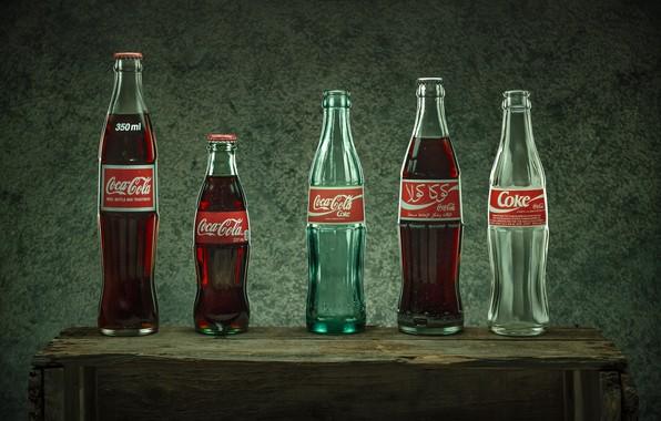 Картинка бутылки, напиток, coca cola