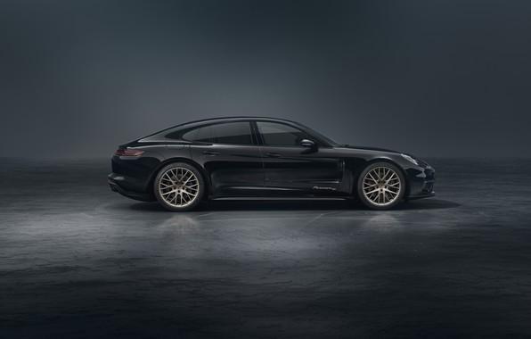 Картинка Porsche, Panamera, вид сбоку, 2019, 10 Year Edition