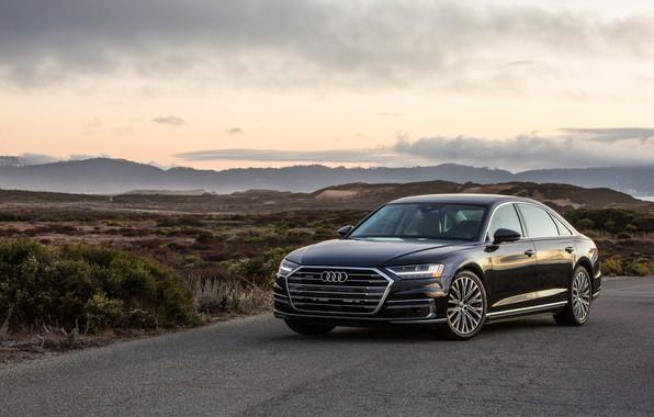 Картинка Audi, ауди, седан, Audi A8