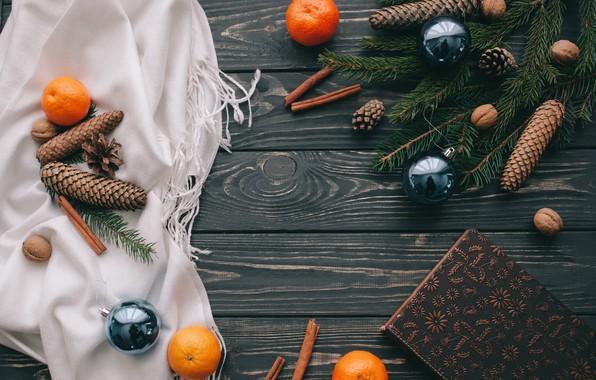 Картинка украшения, шары, Новый Год, Рождество, Christmas, balls, wood, New Year, decoration, Merry