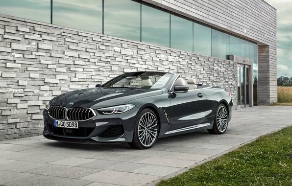 Картинка BMW, 2018, Cabrio, xDrive, G14, M850i, BMW M850i xDrive Cabrio 2018, BMW M850i xDrive Cabrio