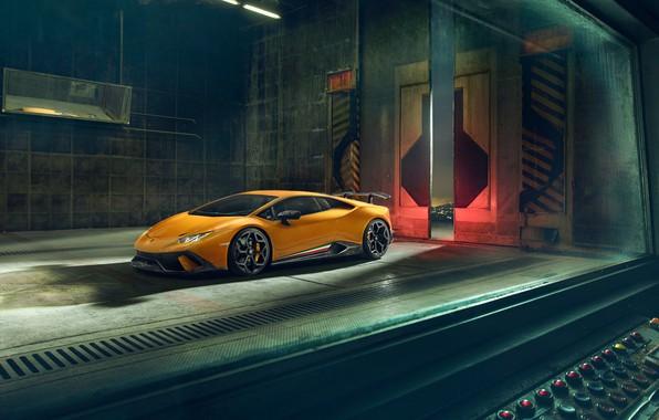 Картинка Lamborghini, 2018, Performante, Novitec, Huracan