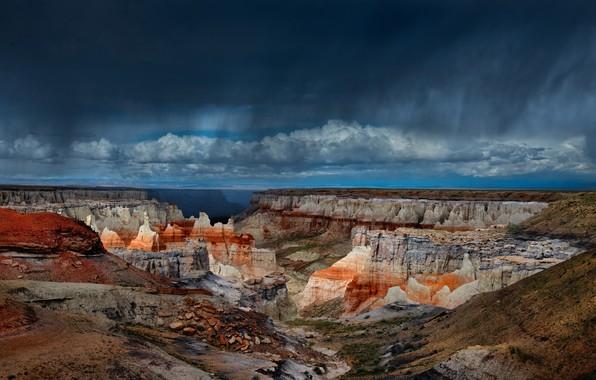 Картинка тучи, Аризона, США, Кол Майн Каньон