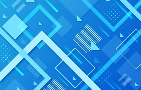 Картинка линии, дизайн, абстракция, фон, голубой, геометрия, background