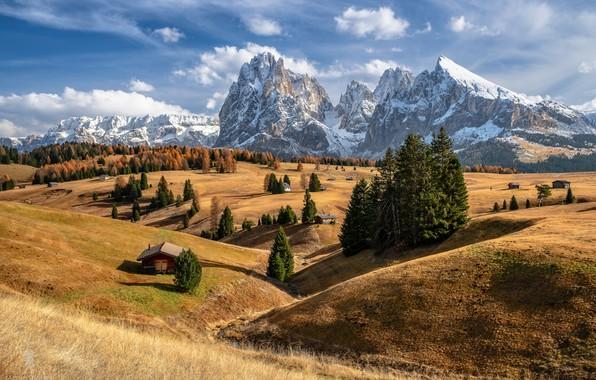 Картинка Autumn, Beauty, Alpe di Siusi
