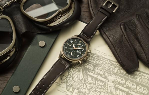 Картинка IWC, Спитфайр, Swiss Luxury Watches, швейцарские наручные часы класса люкс, analog watch, коллекция часов для …