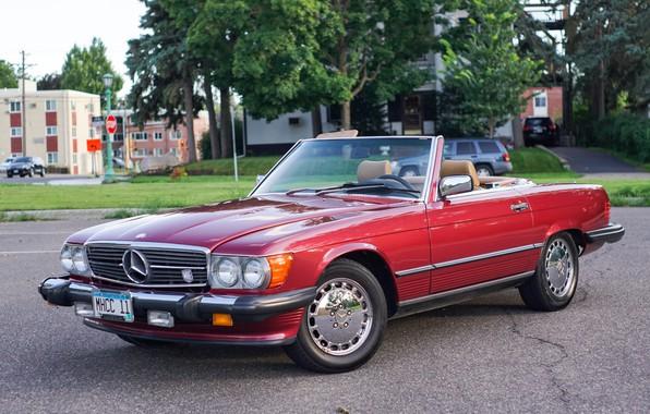 Картинка Mercedes - Benz, 560sl, r107