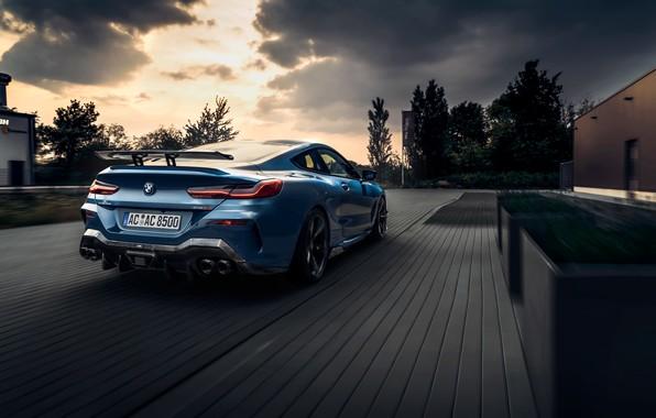 Картинка машина, облака, купе, BMW, фонари, AC Schnitzer, G15, M850i, ACS8 5.0i