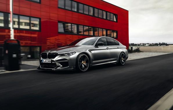 Картинка BMW, седан, фасад, AC Schnitzer, четырёхдверный, M5, F90, 2019, ACS5 Sport