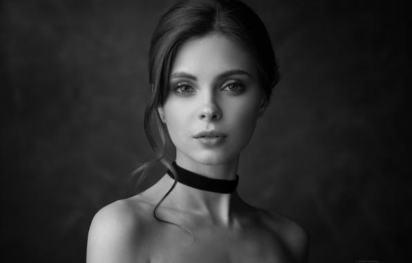 Картинка Девушка, плечи, Денис Дрожжин