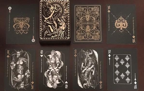 Картинка карты, фантастика, мистика
